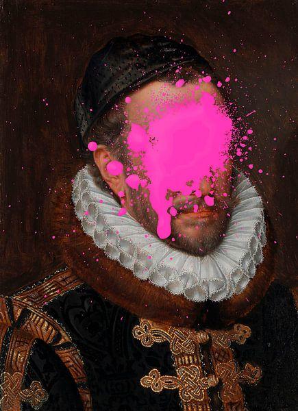 Portrait de Guillaume Ier, prince d'Orange par Adriaen Thomasz...oops ! sur Maarten Knops