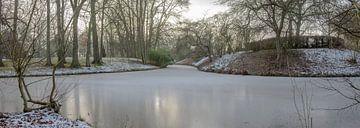 Bevroren gracht. van Marcel Pietersen