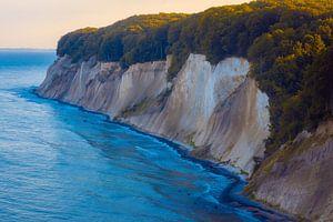 Kreideküste im letzten Licht von Martin Wasilewski