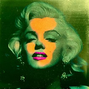 Marilyn Monroe Algen Green 32 Colours Game van
