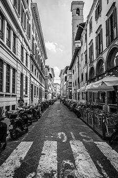 Straßen von Florenz von Peter Pruydt