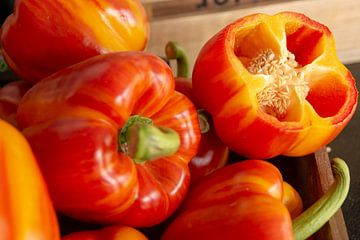 Oranje paprika von Jaco Verheul