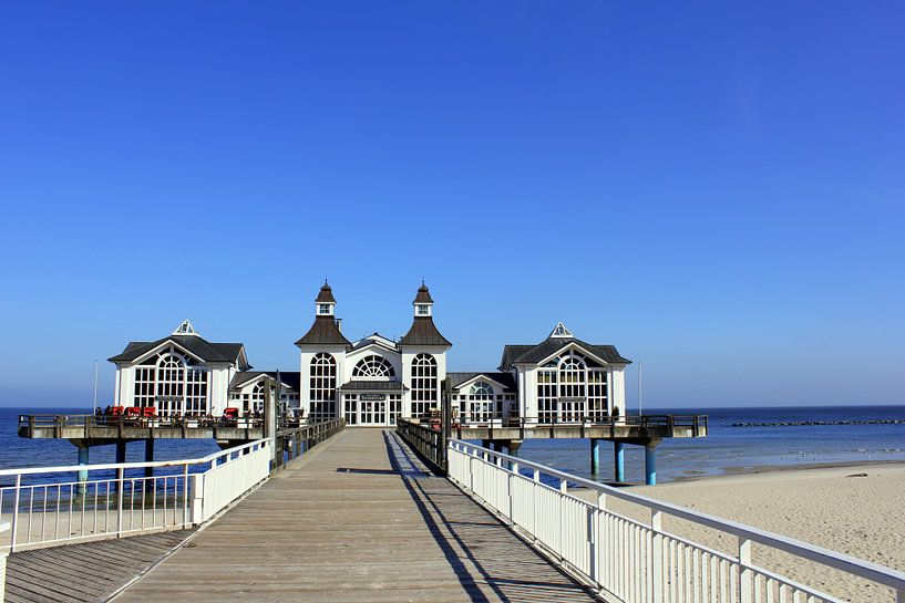 Seebrücke Sellin van Ostsee Bilder