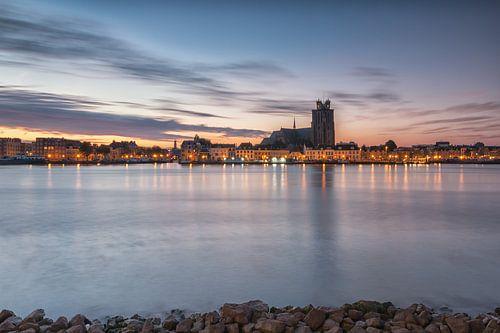 Zonsopkomst bij Dordrecht