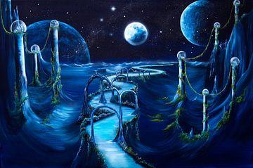 Space night van Conny Krakowski