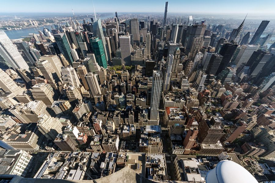 Stadtübersicht  New York van Kurt Krause