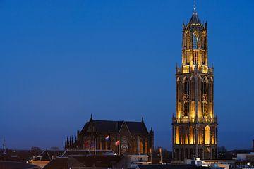 Domkerk en Domtoren in Utrecht  van
