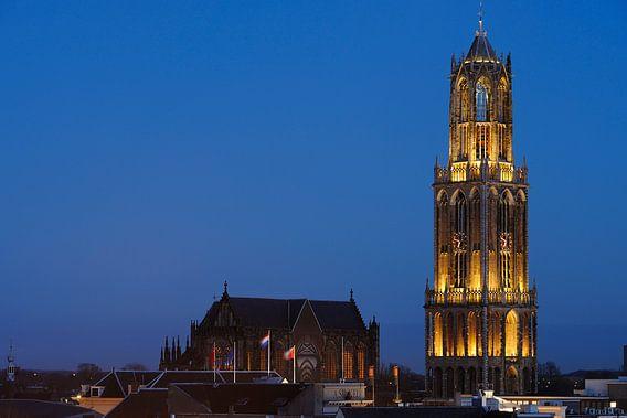 Domkerk en Domtoren in Utrecht