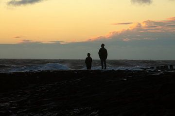 Vader en zoon van MSP Canvas