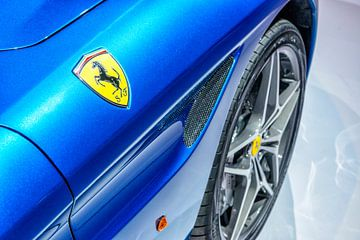 Ferrari California T-Cabriolet-Sportwagen Detail von Sjoerd van der Wal