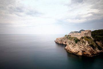 Burg im Meer von Kristof Ven