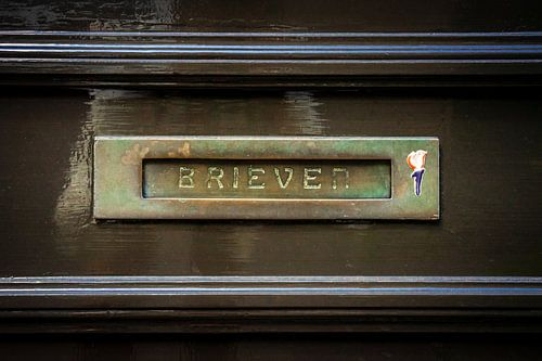 Brass Horizontal Letterbox
