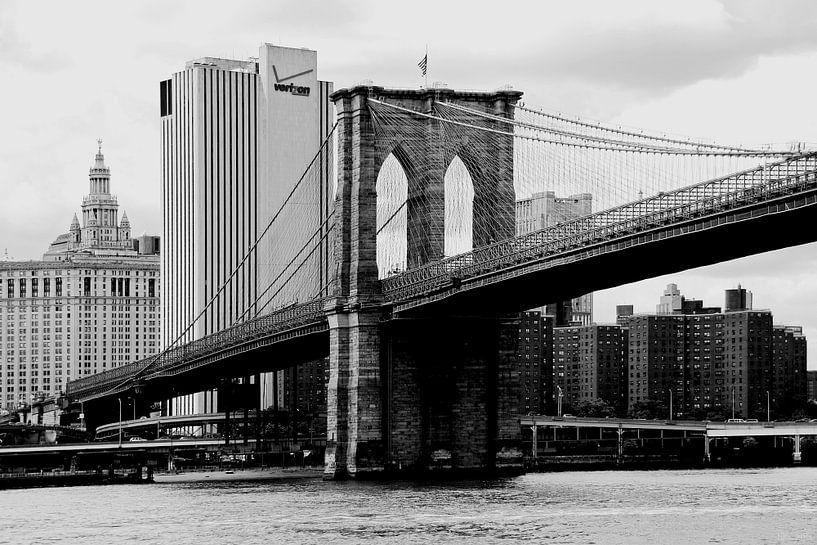 new york city ... brooklyn bridge I van Meleah Fotografie