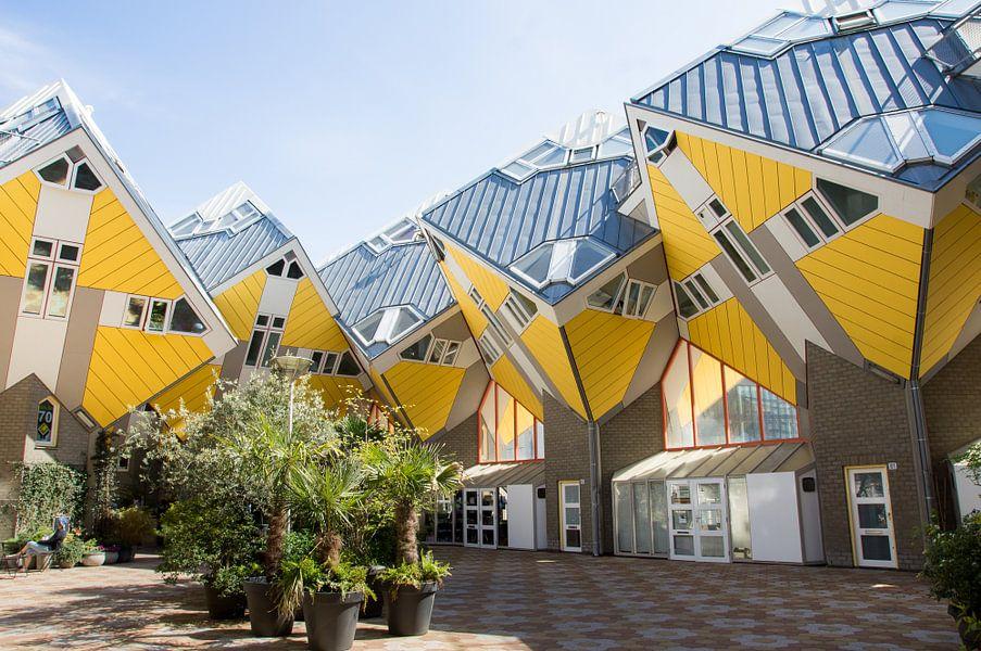 Kubuswoningen in Rotterdam