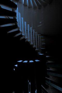 spiraal trap van