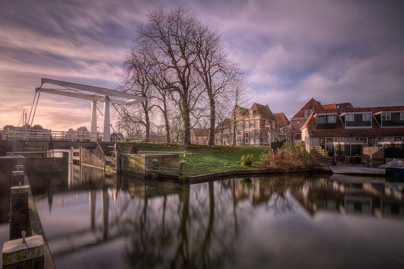 Brug in Hoorn  sur Jan Siebring