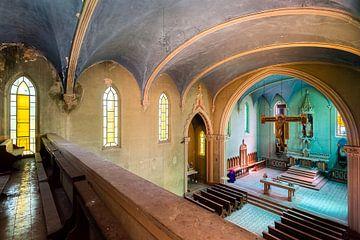Verlassene blaue Kapelle. von Roman Robroek