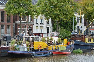 Woonboot van Corinna Vollertsen