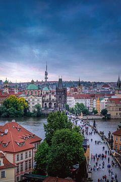 Karlsbrücke Prag von Iman Azizi