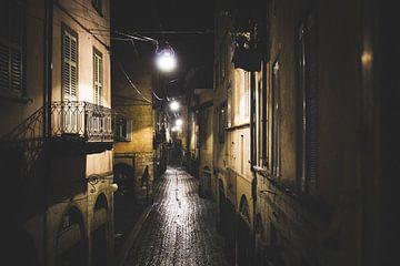 Streets of Bergamo van Tim Stoppels