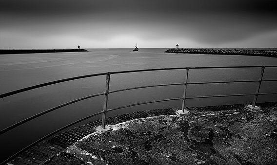 Haven van Scheveningen | Afvaart van Fons Bitter