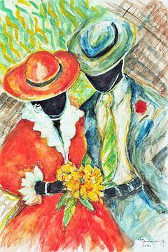Die karibische Hochzeit... von Ineke de Rijk
