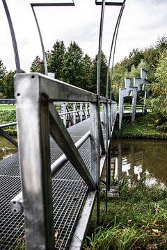 Menschliche Brücke von Wouter van Rheenen
