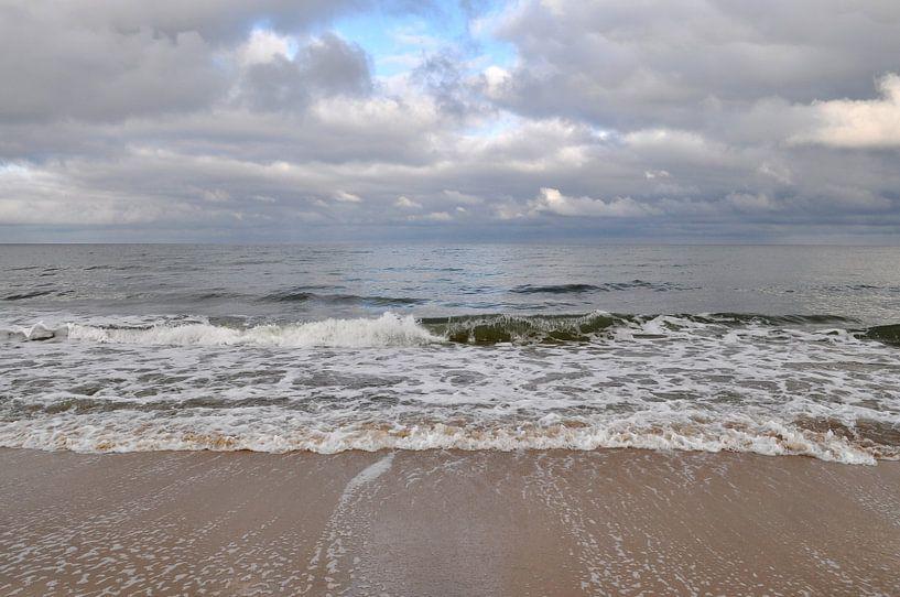 Stürmische Ostsee, Nordstrand Göhren von GH Foto & Artdesign
