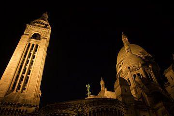 Montmartre bei Nacht von Joram Schilten