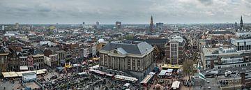 Panorama Groningen binnenstad van