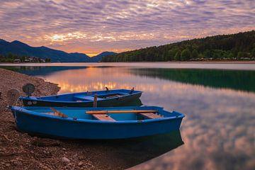 Zonsopgang over de Walchensee! van Erwin Martin