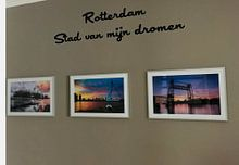 Klantfoto: Stadion Feyenoord / De Kuip van Prachtig Rotterdam, op ingelijst