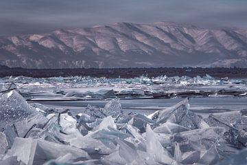 Glace rampante Baikalmeer sur Peter Poppe