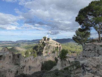 Kasteel van Xàtiva van Gido Kleijweg