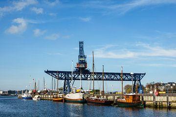 Blick auf den Stadthafen in Rostock sur Rico Ködder