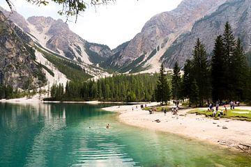 Pragser Wildsee Italie sur Evelien Bruns