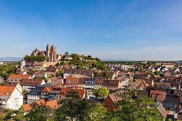Breisach sur le Rhin avec la cathédrale Saint-Étienne sur Werner Dieterich