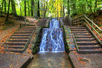 Wasserfall loenen von Fotografie Arthur van Leeuwen