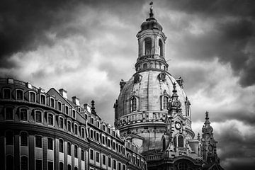Frauenkirche in Dresden von Sabine Wagner