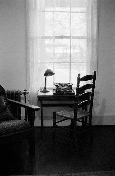 Oxford Mississippi - Interieur met typemachine van Raoul Suermondt