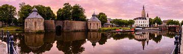 Een kleurrijk Panorama van Breda Spanjaardsgat van JPWFoto
