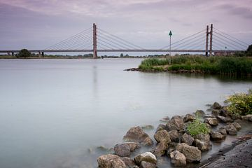 Zicht op de Molenbrug bij Kampen van Jos Reimering