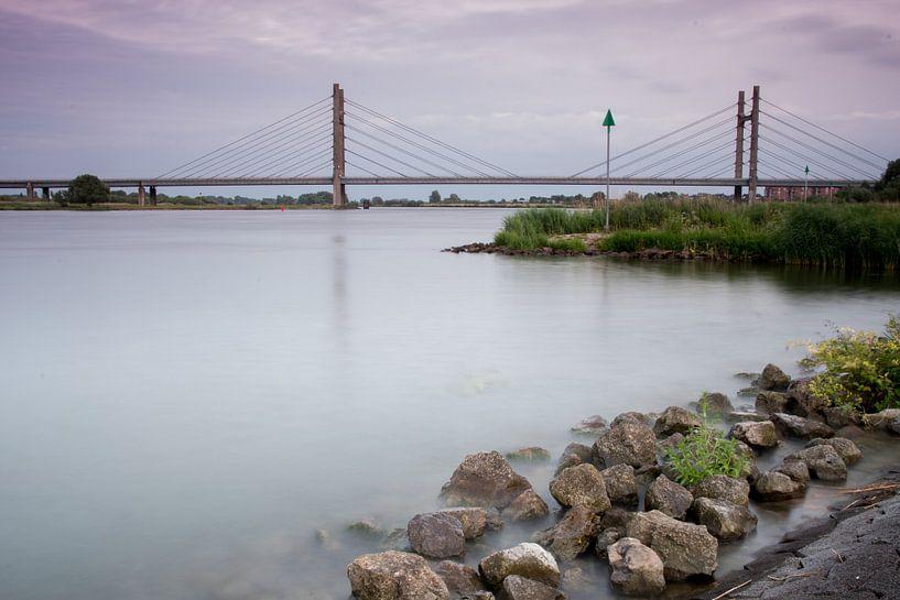 Zicht op de Molenbrug bij Kampen sur Jos Reimering