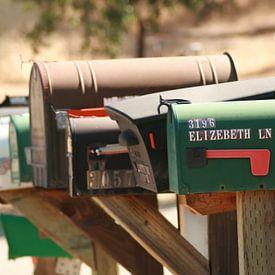 Mailboxes 2 van Karen Boer-Gijsman