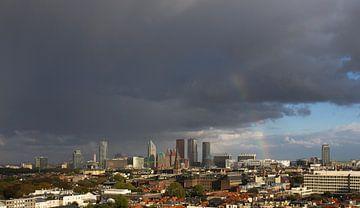 regenboogpanorama van Den Haag centrum von Peter de Ruig