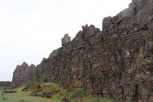 Isländisches Gestein von Kimberley Fennema