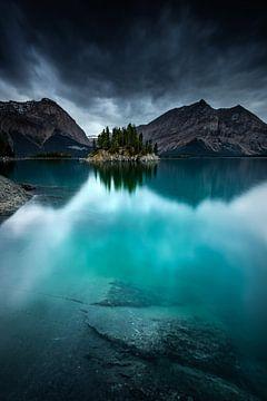 Upper kananaskis Lake van Arnaud Bertrande