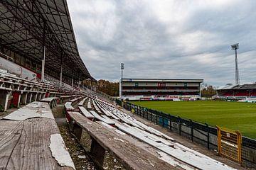 Das Bosuil-Stadion, Antwerpen: Tribüne 2 von Martijn Mureau