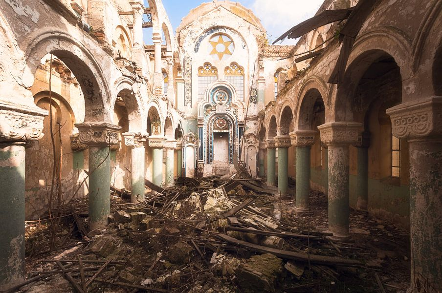 Verlaten Synagoge.