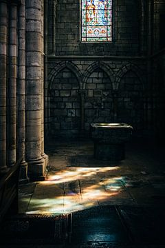 Glasmalerei IX von Steven Goovaerts